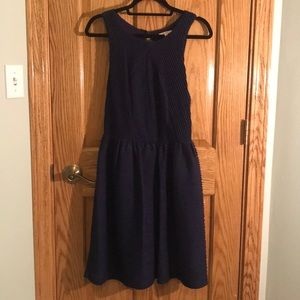 Anthropologie Bordeaux Dress